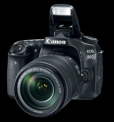 معرفی خصوصیات فنی ۸۰D جدیدترین دوربین Canon