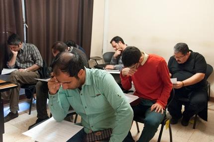 برگزاری نهمین آزمون رسمی آموزشگاه عکاسی حرفهای