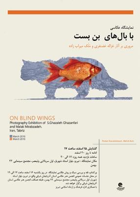 نمایشگاه عکس غزاله غضنفری و ملک میرابزاده در تبریز