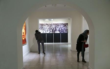 گزارشی از آخرین نمایشگاه گالری «اثر» در سال ۹۴