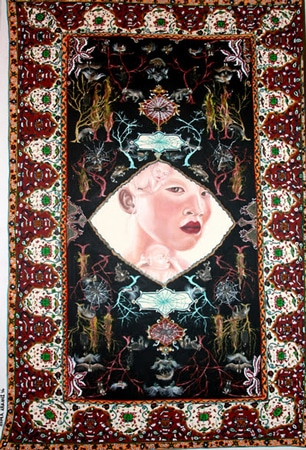 نمایشگاه نقاشی «هما ارکانی» در گالری اعتماد