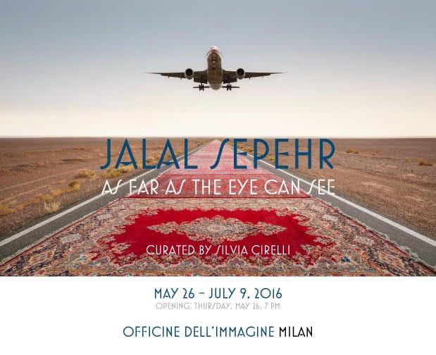 برپایی نمایشگاهی از عکسهای جلال سپهر در میلان