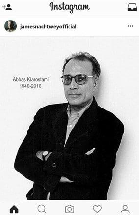 تسلیت انجمن عکاسان ایران برای درگذشت کیارستمی