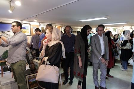 میزبانی «صد اثر صد هنرمند» از ۱۹۵ هنرمند ایرانی