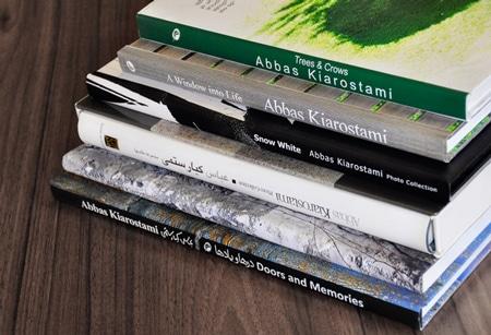فروش ویژه کتابهای عکس «عباس کیارستمی»