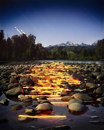 «صحنه»؛ عکسهای انتزاعی از طبیعتی شگرف