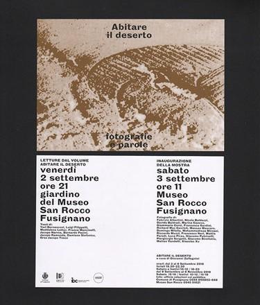 محمدرضا میرزایی در نمایشگاه «زیستنِ بیابان» در ایتالیا