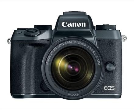 رونمایی «کانن» از دوربین EOS M۵ و یک لنز جدید