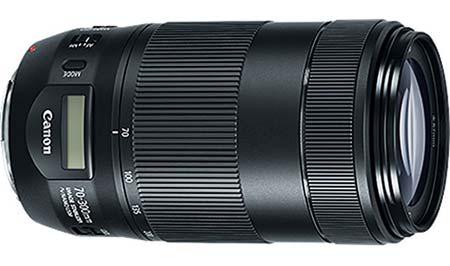 لنز جدید EF ۷۰-۳۰۰mm f/۴-۵.۶ «کانن»
