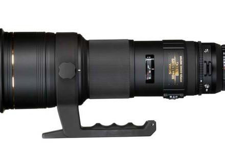 لنز ۵۰۰mm f/۴ DG OS HSM «سیگما»