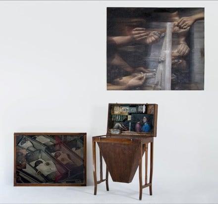 نمایشگاه نقاشی «نامرئی و نامعین» در پروژههای آران