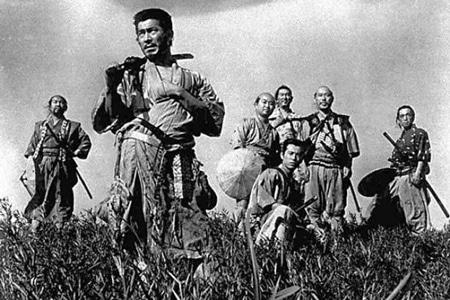 نمایش فیلم «هفت سامورایی» در موزه هنرهای معاصر