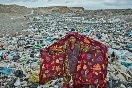 جایزه نخست مسابقه عکس یونیسف برای آریز قادری