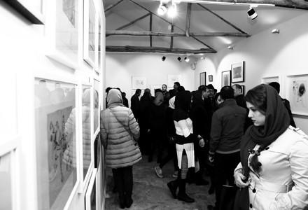 گشایش گالری هنری «بن» با نمایشگاه ریشهها
