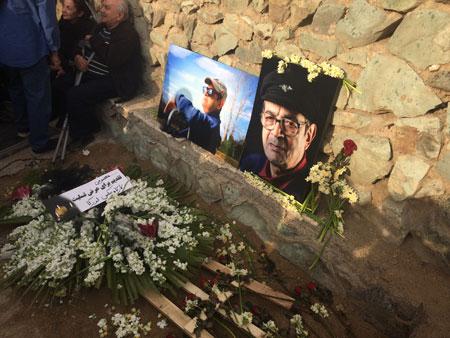 خداحافظی با «مسعود معصومی» در کوهپایه فرحزاد