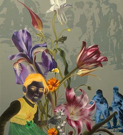 نمایشگاه نقاشی «آیههای نسیان» در گالری آران