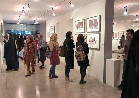 گزارشی از گشایش نمایشگاه آثار مصوران برجسته ایتالیا