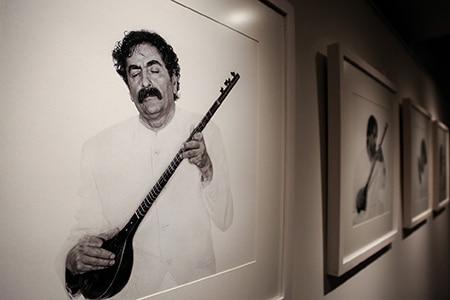 افتتاح نمایشگاه عکسهای مریم زندی