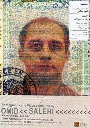 نمایشگاه عکس و ویدئوی «اینجا، من دو اسم دارم» امید صالحی در گالری راه ابریشم
