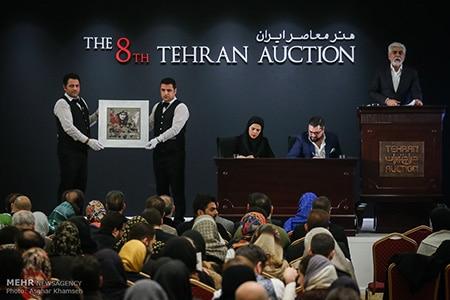 فروش ۷ عکس در هشتمین حراج هنری تهران