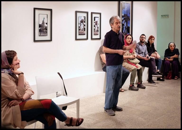 گفتوگویی پیرامون مجموعه عکسهای «سیب سوم»