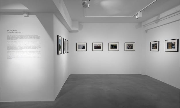 نمایشگاه عکسهای رنگی ویویان مایر در لندن
