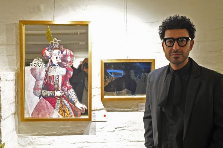 گزارشی از جدیدترین نمایشگاه مهدی منصوری در گالری گلستان