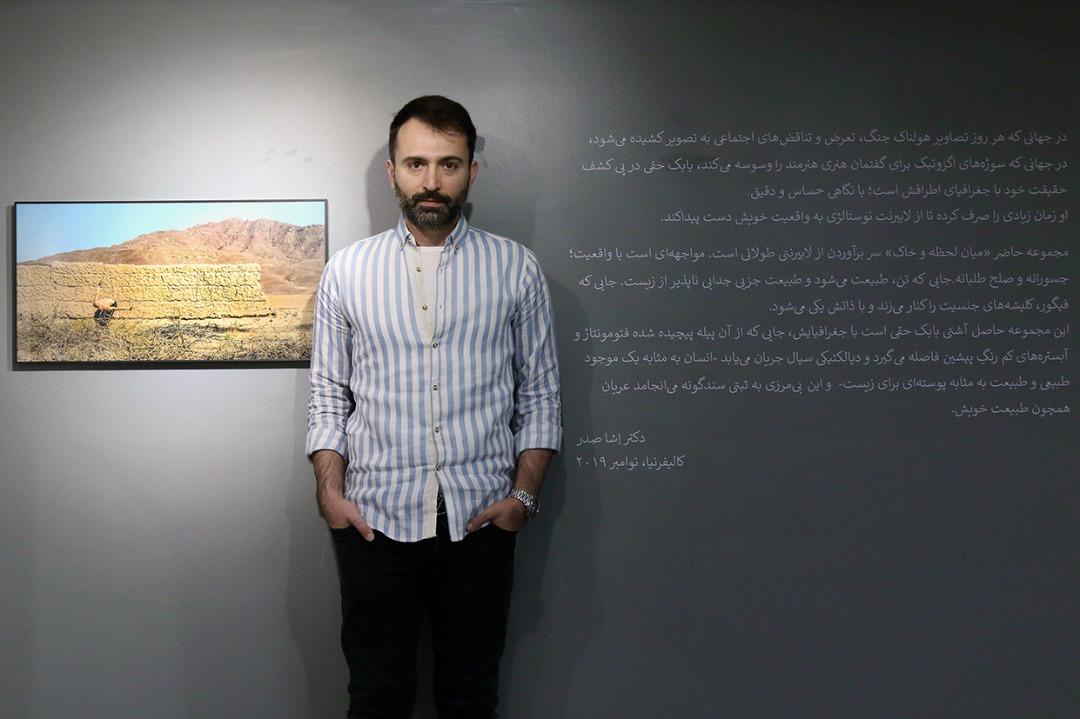 گزارش نمایشگاه عکس «میان لحظه و خاک»