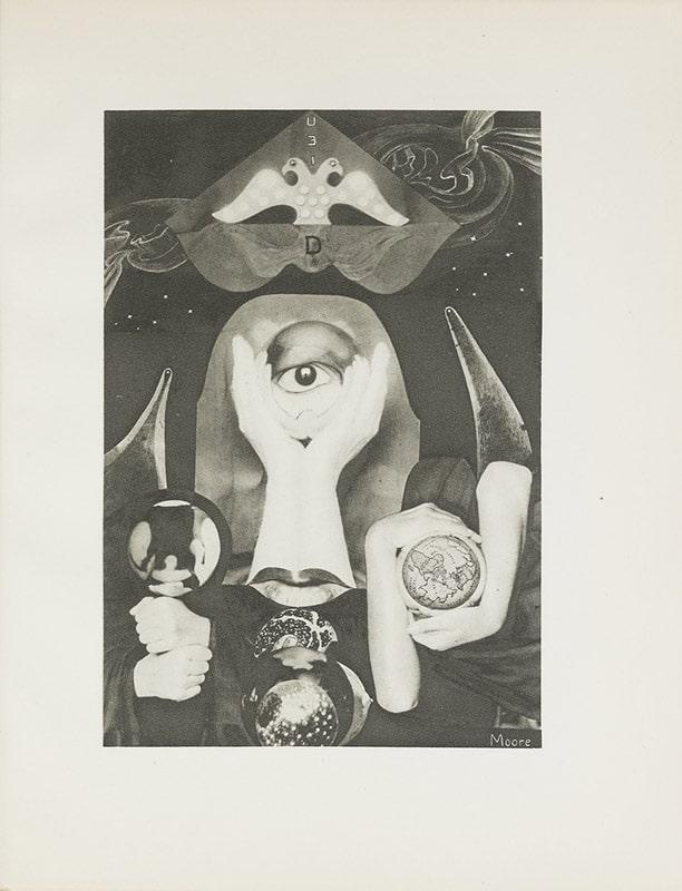 کلد کائن و مارسل مور، فتومنتاژ بدون عنوان از انکار، 1930