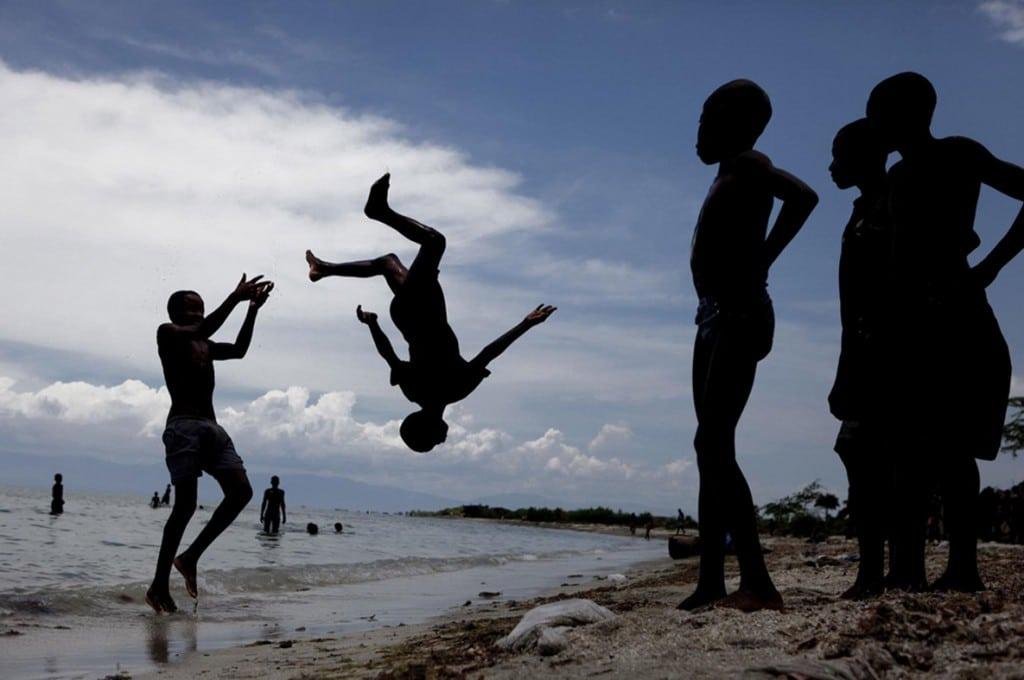Nancy Fares، استعداد نوظهور سال مسابقه عکاسی بوداپست 2019. از مجموعهی «فضای بالقوه: نگاهی جدی به بازی کودکان»
