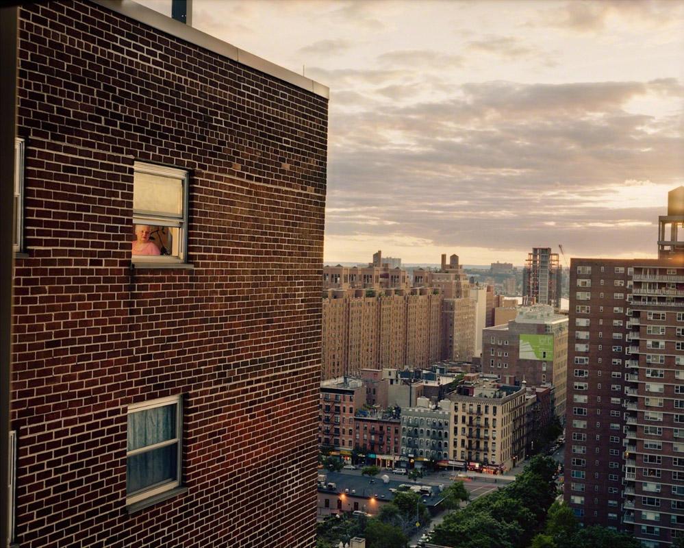 گیل آلبرت هلبان. نیویورکسیتی، از مجموعهی «بیرون پنجرهام»
