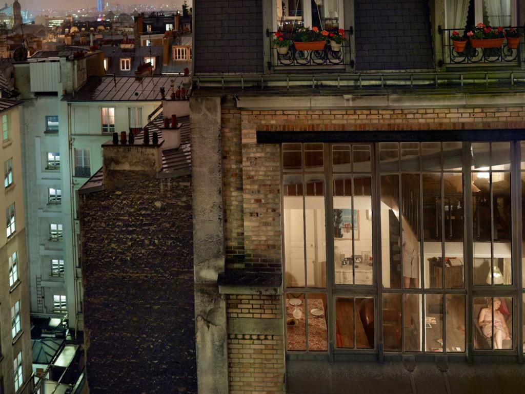 گیل آلبرت هلبان. پاریس، 2013، از مجموعهی «بیرون پنجرهام»