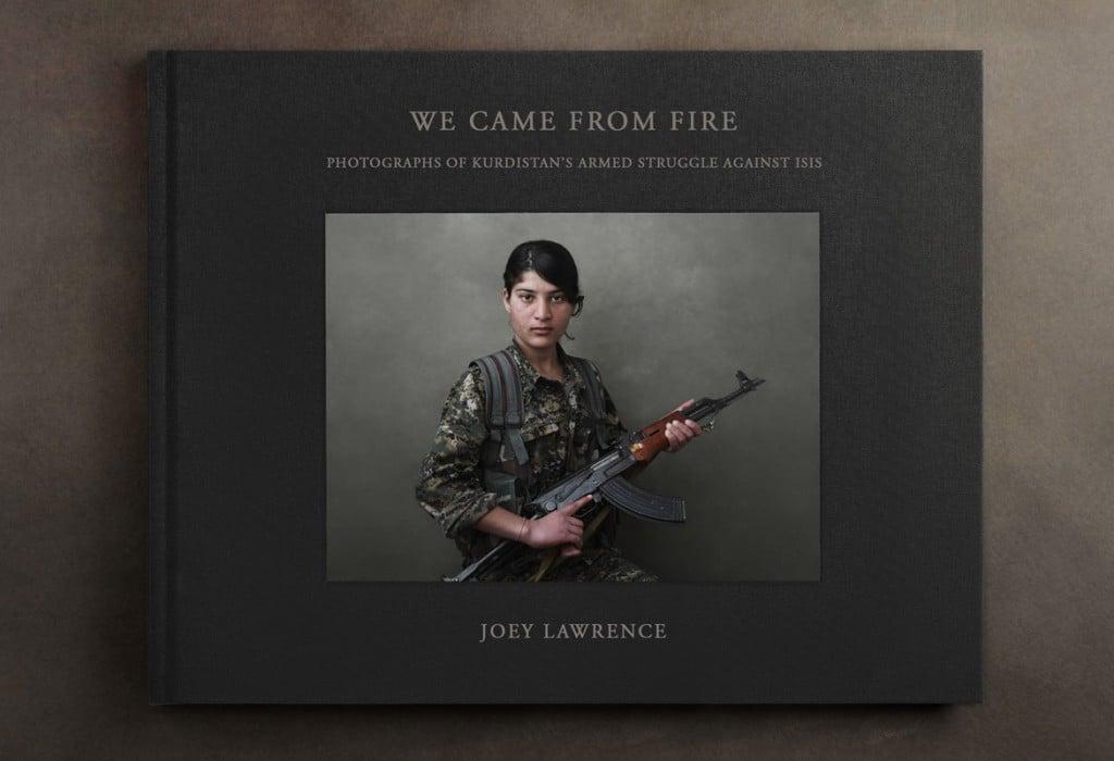 Joey L.. کتاب «از آتش آمدهایم: عکسهایی از نبرد نیروهای مسلح کردستان علیه داعش» (2019). رتبه اول بخش «کتاب» و رتبه اول زیربخش «کتاب مستند» مسابقه عکاسی IPA 2019