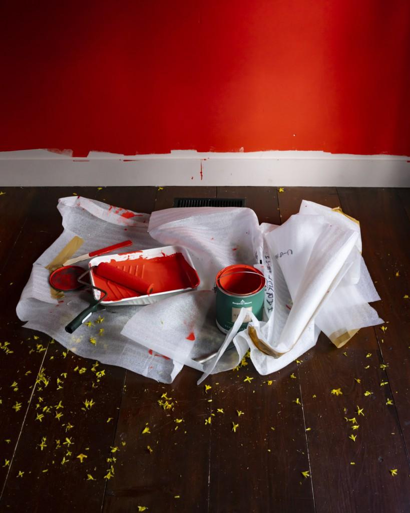 سیگ هاروی. دیوار سرخ، 2020