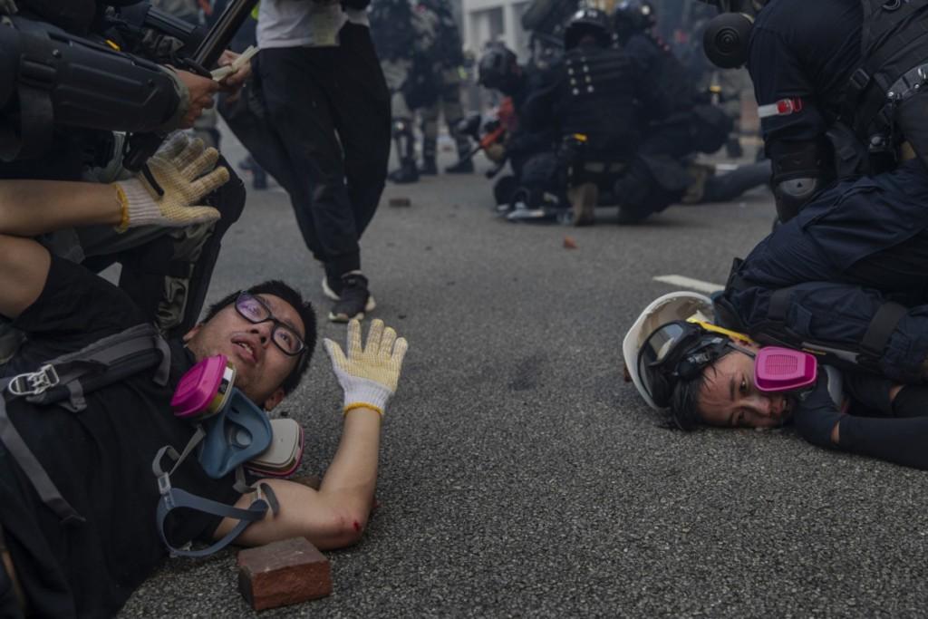 Susana Vera. اعتراضات هنگکنگ
