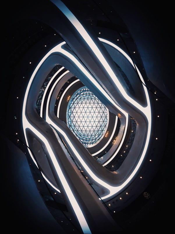 Ekaterina Busygina. زاویهی از پایین به بالا، گلکسی سوهو، رتبه اول بخش «عکاسی معماری-فضای داخلی» (حرفهای)