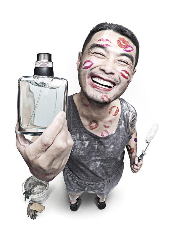 Zhou Peng. عطر خواستنی، رتبه اول بخش «تبلیغات» (غیرحرفهای)