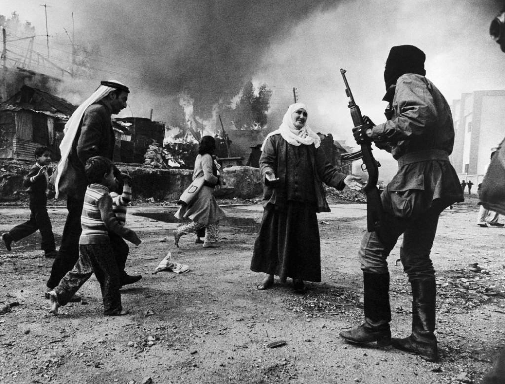 فرانسوئاز دمولده. کشتار بیروت، لبنان، 1976
