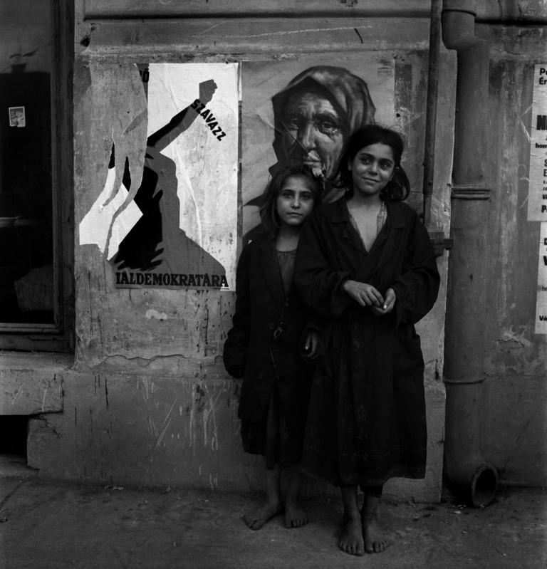 لی میلر. کودکان بیخانمان، بوداپست، مجارستان، 1946