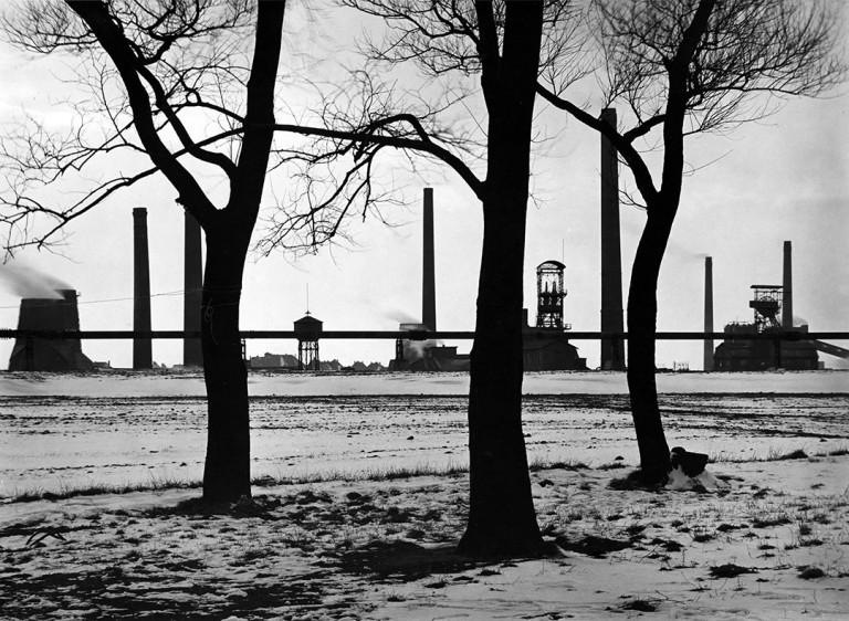 آلبرت رنگر پتچ. منظرهی زمستانی، 1929