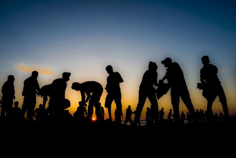 پژمان مولایی، رتبه اول بخش «عملیات امداد و نجات و کمک مردمی و خیرین» مسابقه عکاسی سیلاب 97 و 98