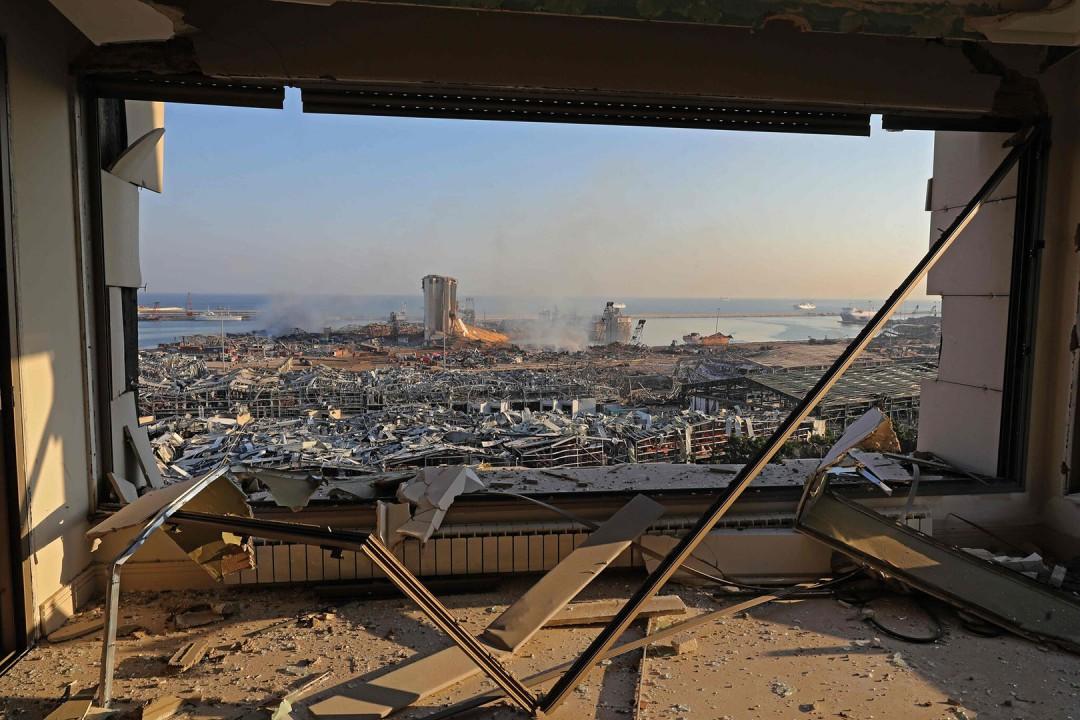 عکسهای برگزیده از انفجار عظیم بیروت