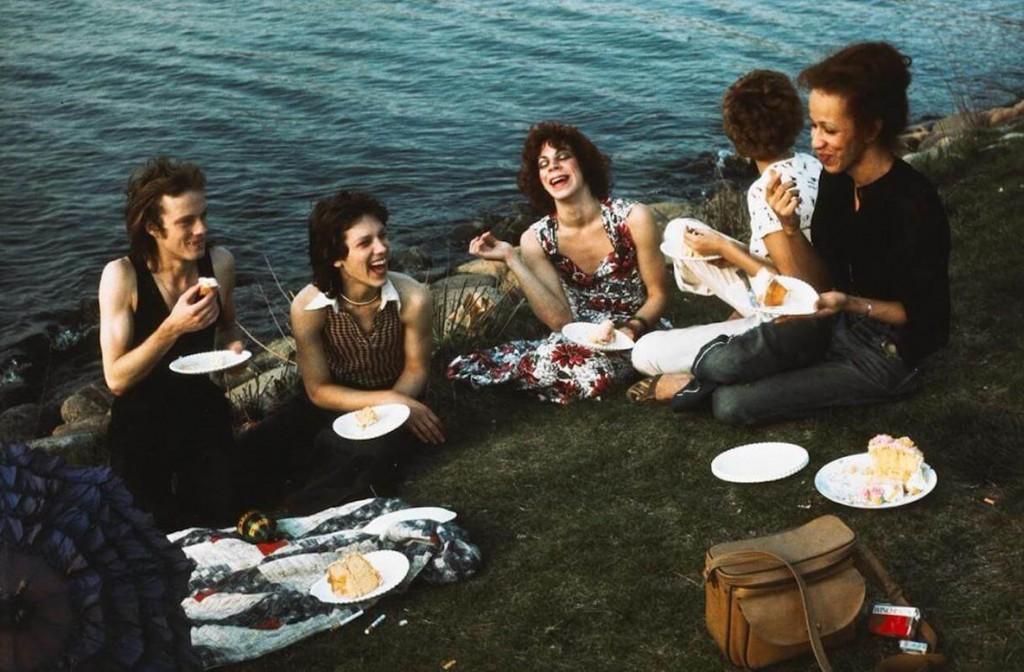نن گلدین. پیک نیک درEsplanade ، بوستون، ۱۹۷۳