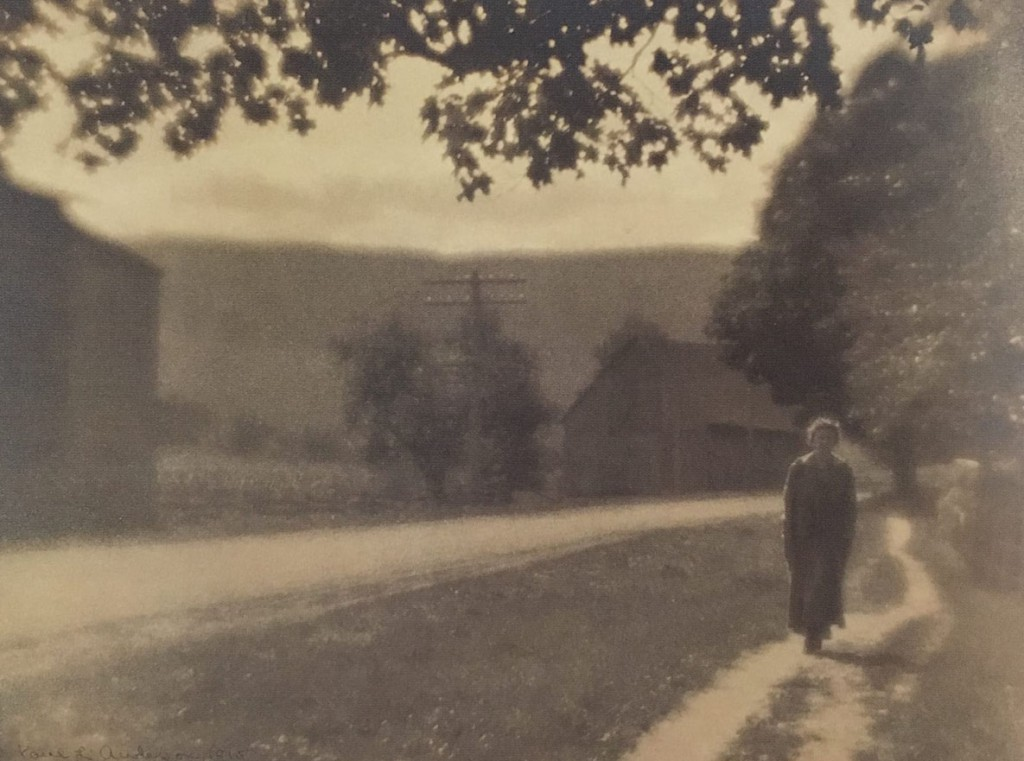 Paul Anderson. جاده روستایی، 1915
