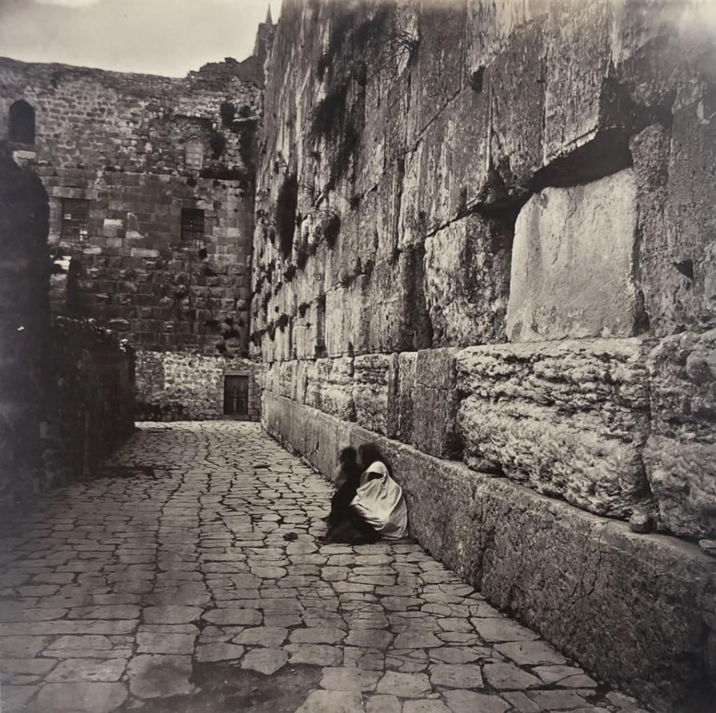 عکاس نامعلوم. دیوار ندبه، اورشلیم، حوالی 1860
