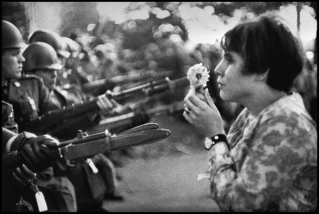 مارک ریبو. واشینگتن دیسی، تظاهرات ضد جنگ ویتنام، 1967