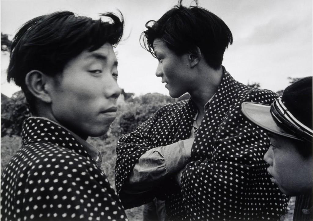 ایهِئی کیمورا. دانشآموزان روستا، آکیتا، 1953