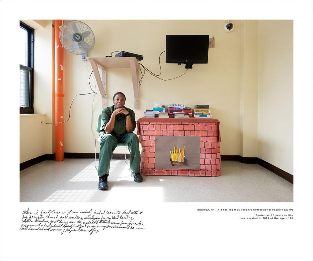 Sara Bennett از آمریکا. از مجموعهی «نگاه به درون: پرترههایی از زنان زندانی محکوم به حبس ابد». یکی از 10 برگزیده مسابقه عکاسی برگزیده منتقدان لنزکالچر 2020