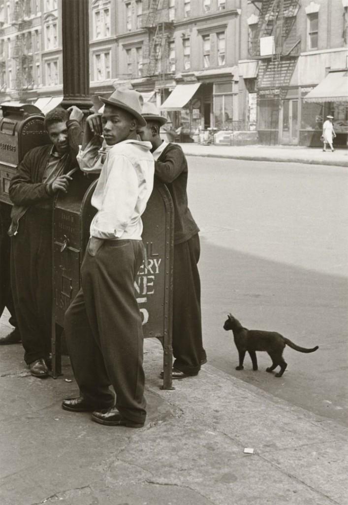 هلن لویت. نیویورک، 1945