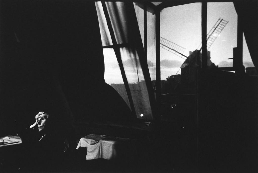 بروس دیویدسن. بیوهی مونْمارتْر، 1956